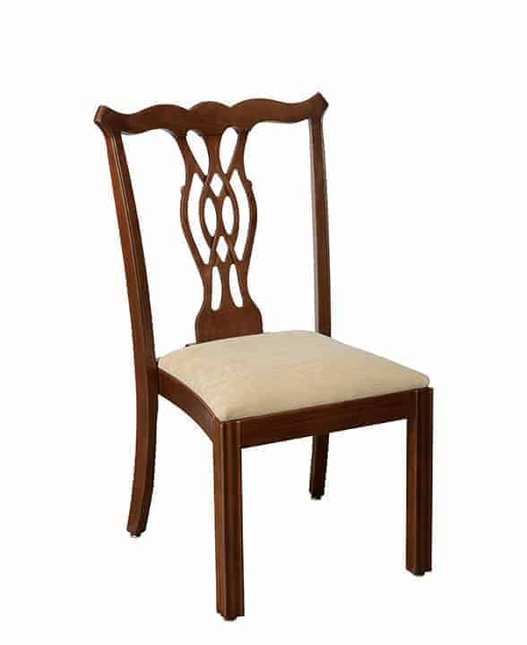 Claremont wide stacking chair