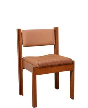 stacking pew chair
