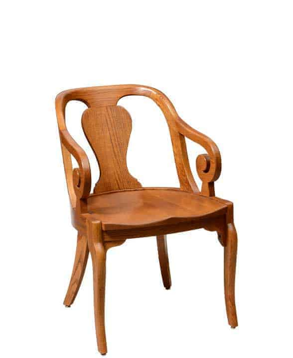 selecting wood chairs