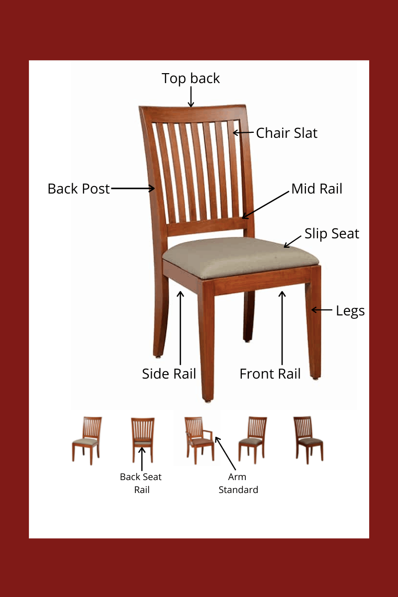 chair terminology